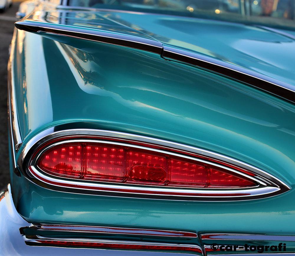 Cat's Eye Tail Light car-tografi