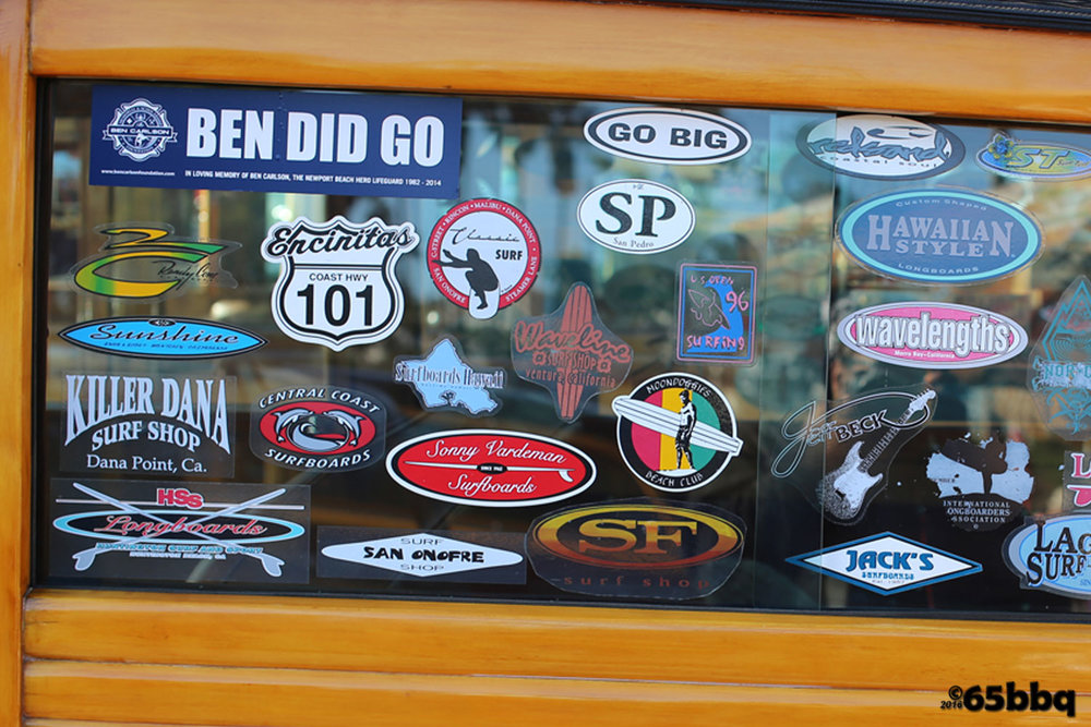 sticker shock the woodie car-tografi