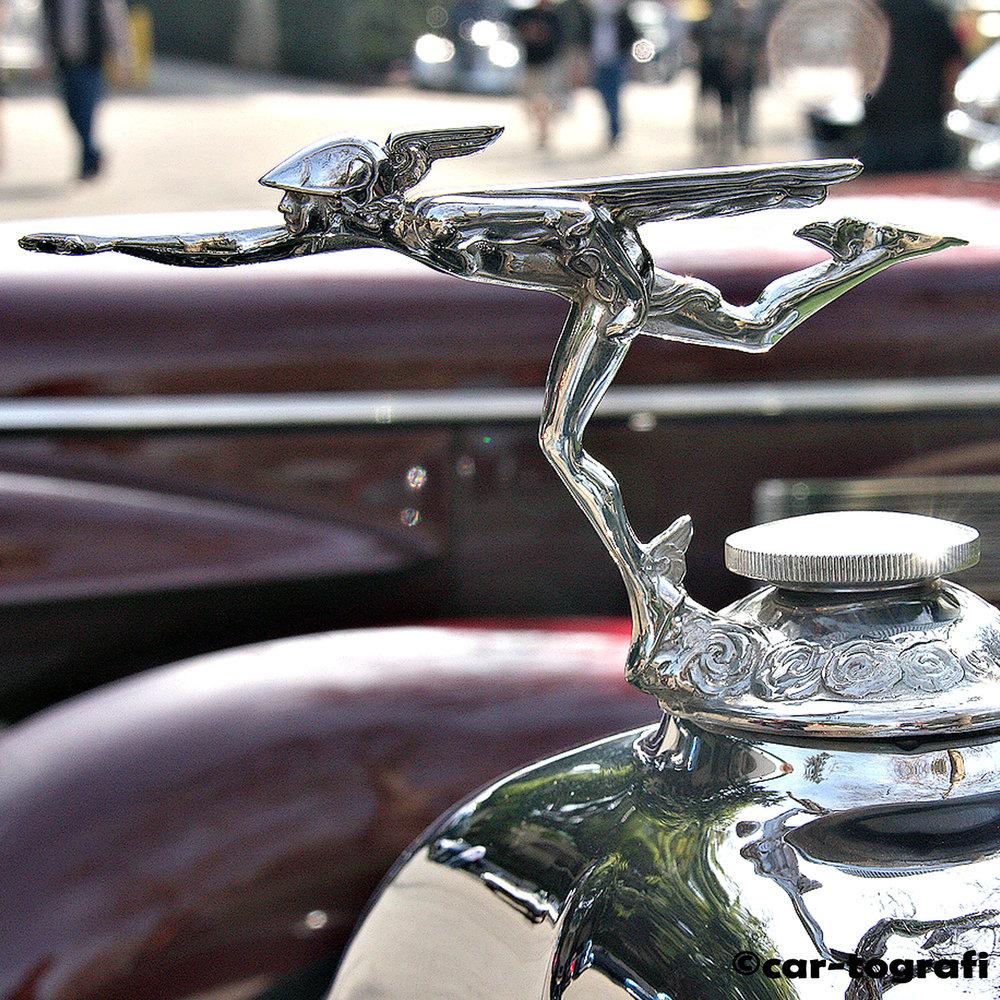 Buick Hood Mascot car-tografi