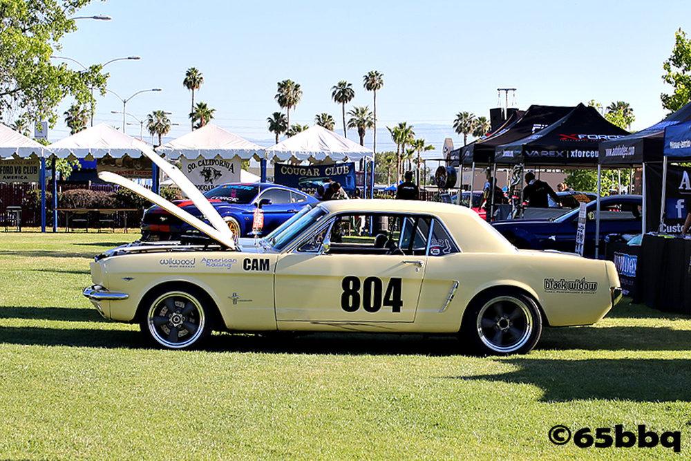 Vintage Mustang 804 car-tografi