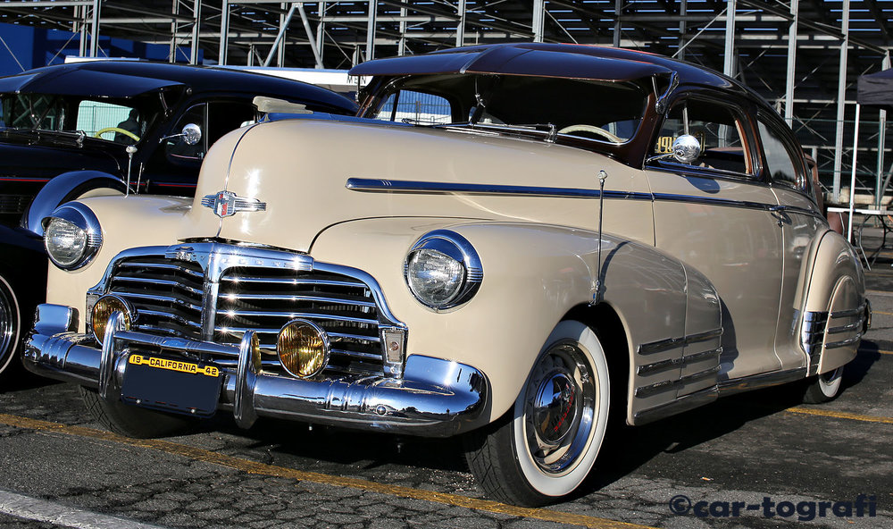 Classic Chevorlet 42 at Pomona Swap Meet