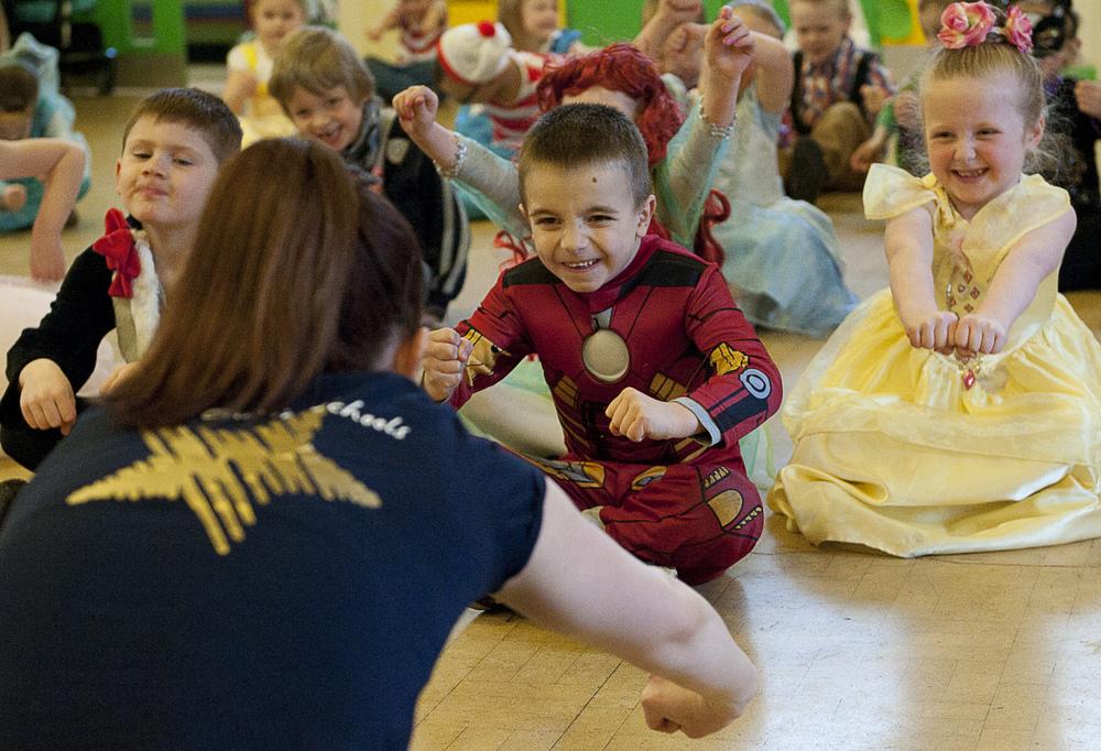World Book Day dancing