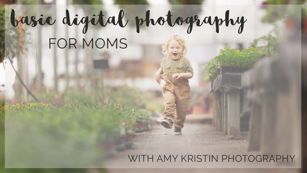 Basic Digital Photography for Moms class with Amy Kristin Photography