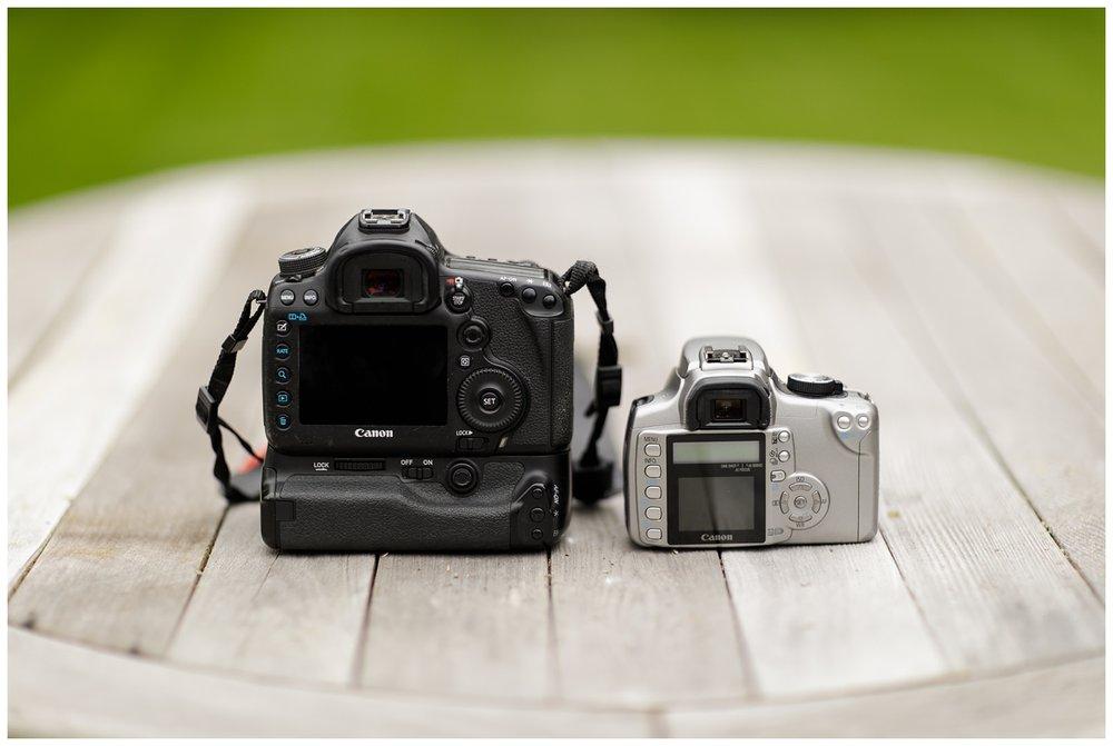 Canon 5d Mark III and Rebel XT