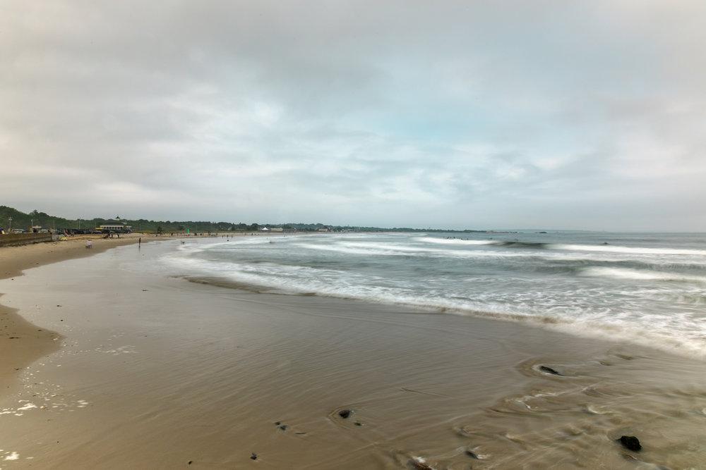 Narragansett beach long exposure