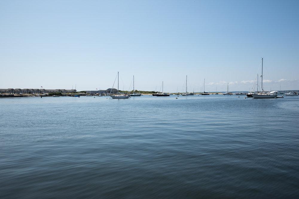 Boats in Watch Hill, RI