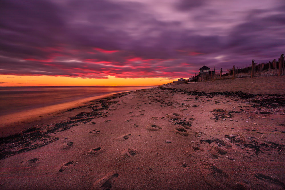 Sunset at Matunuck, RI