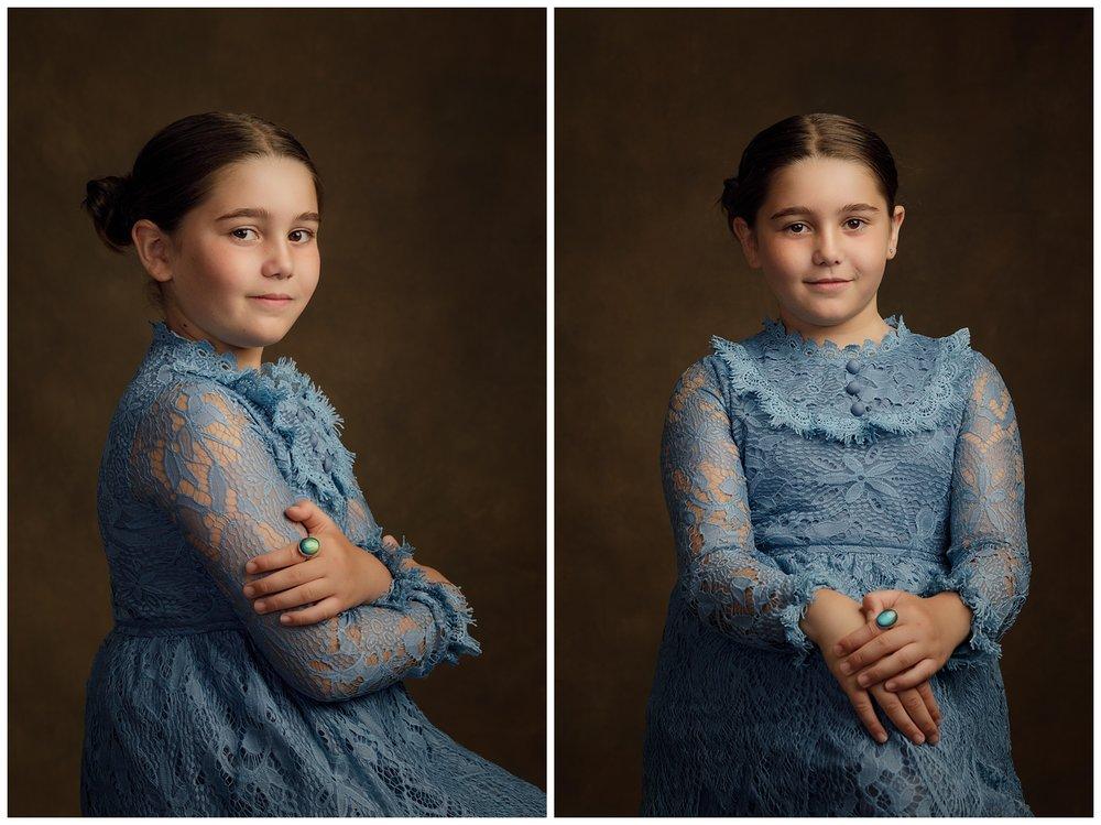 studio photos of girl in Charlestown, RI