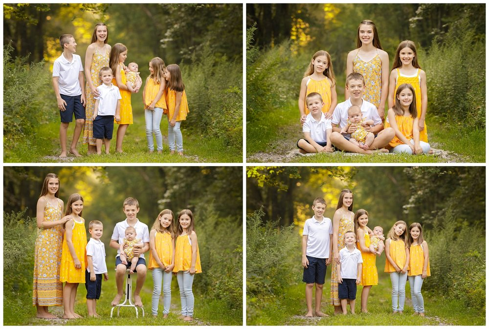 Sibling portraits in Wakefield, RI