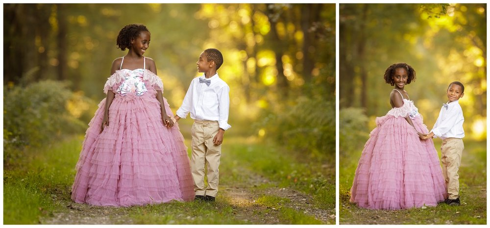Brother and sister portraits in South Kingstown, RI