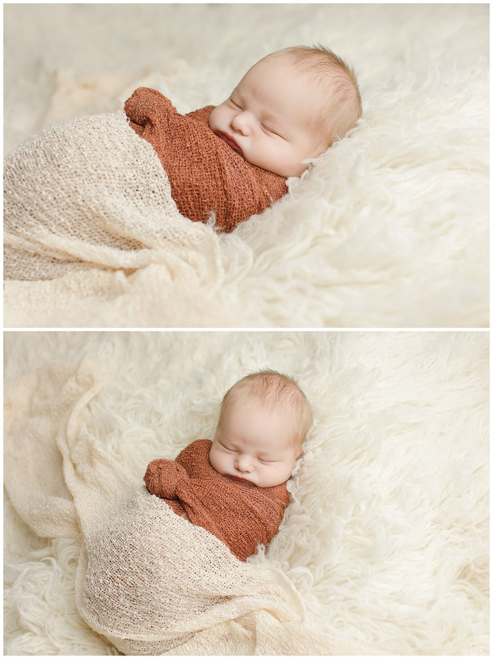 newborn baby in studio in Charlestown, RI