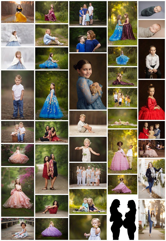 2018 favorite photos collage