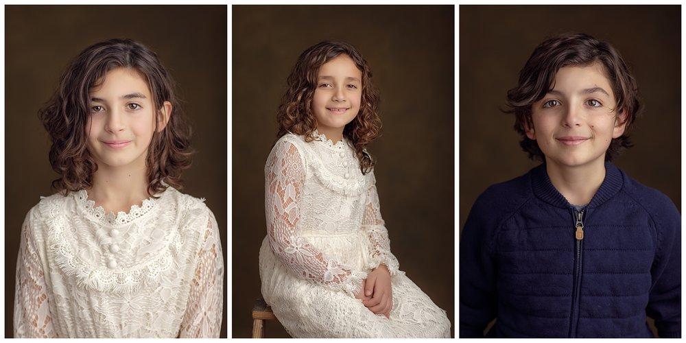 fine art studio portraits of children