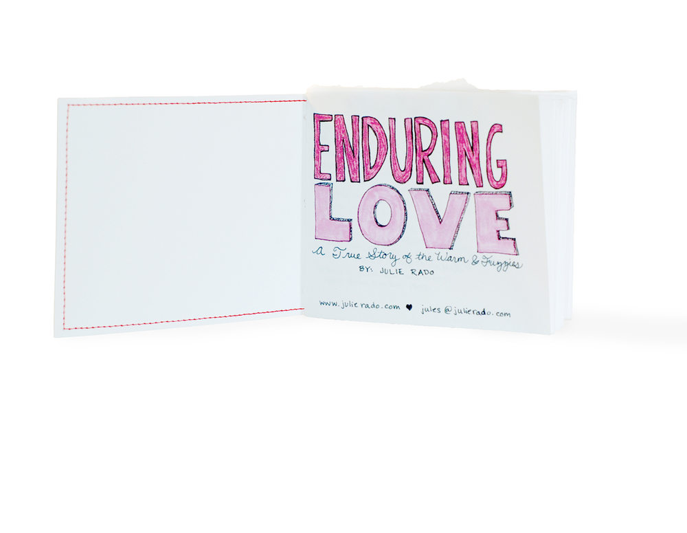 Enduring Love Sketchbook Self-Promotion, Julie Rado