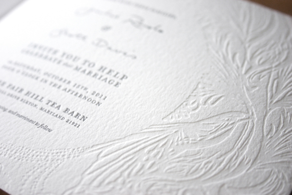 J & S Wedding Invitations, Julie Rado