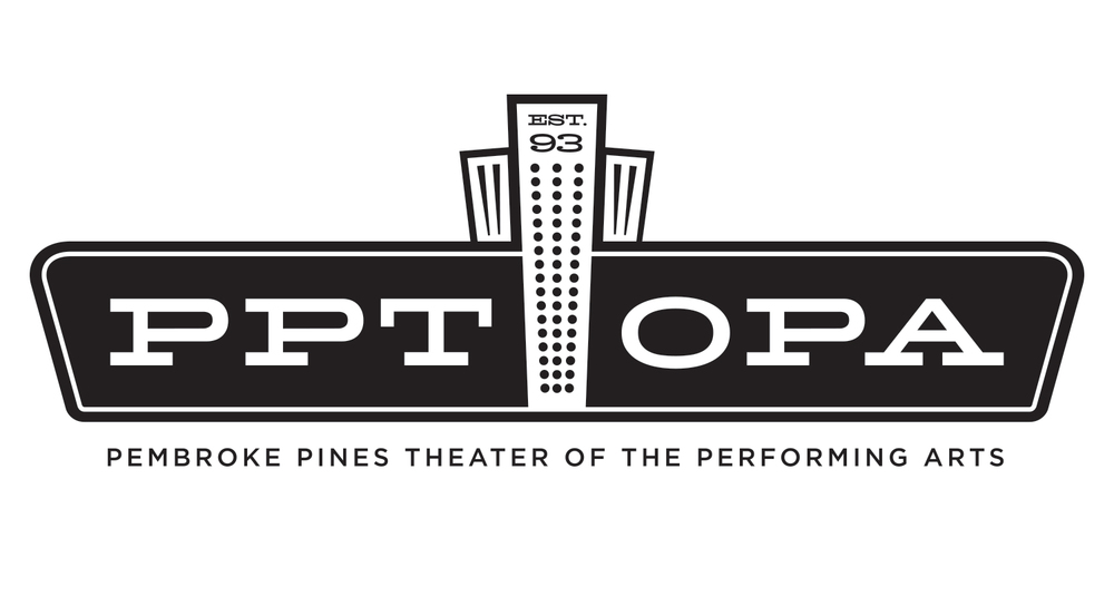 Pembroke Pines Theater of the Performing Arts Logo, Julie Rado