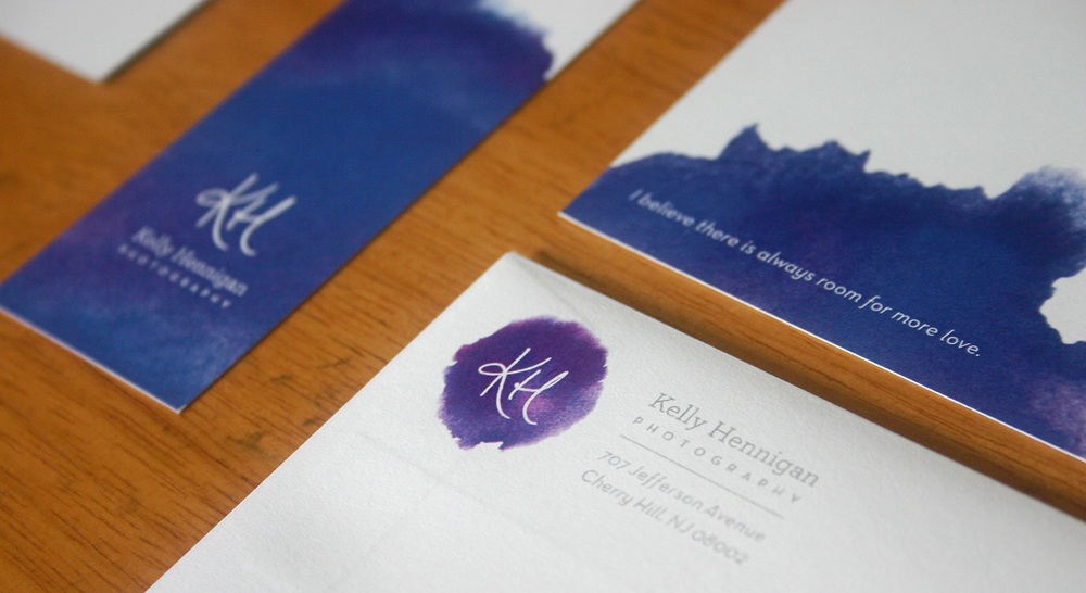 Kelly Hennigan Photography Logo & Collateral, Julie Rado/Untuck Design