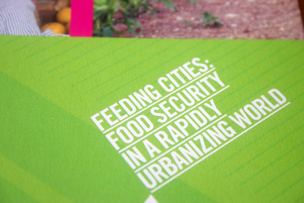 Penn Institute of Urban Research Feeding Cities Conference Identity & Collateral, Julie Rado/Untuck Design