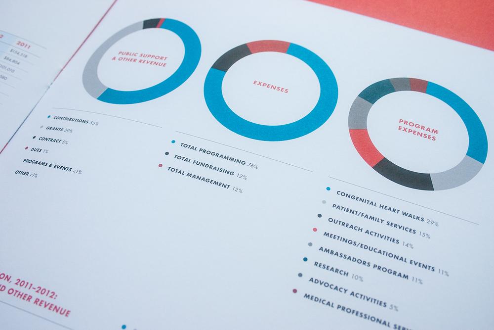 Adult Congenital Heart Association 2012 Annual Report, Julie Rado/Untuck Design