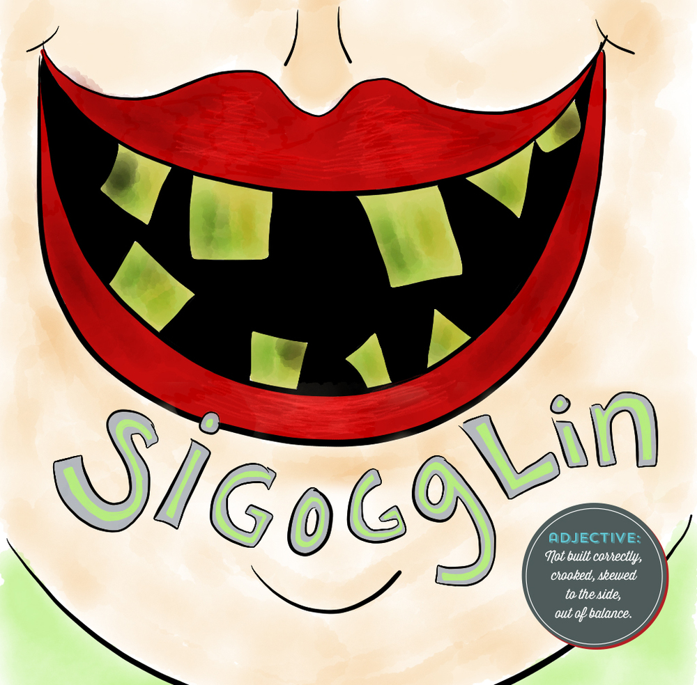 Visual Vocabulary: sigogglin illustration, Julie Rado Design