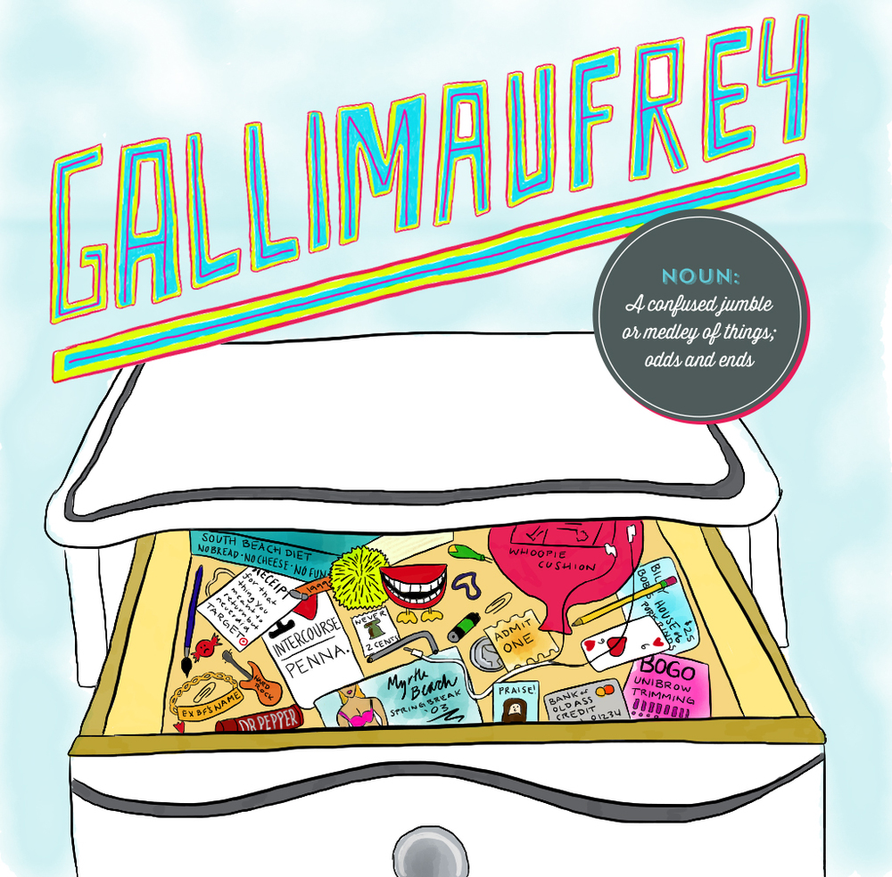 Visual Vocabulary: gallimaufrey illustration, Julie Rado Design
