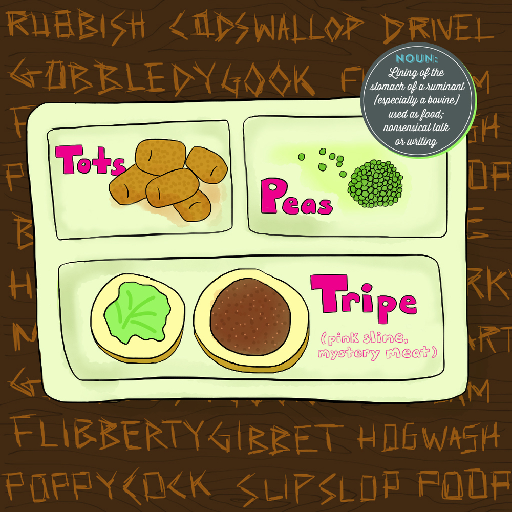 Visual Vocabulary: tripe, Julie Rado Design