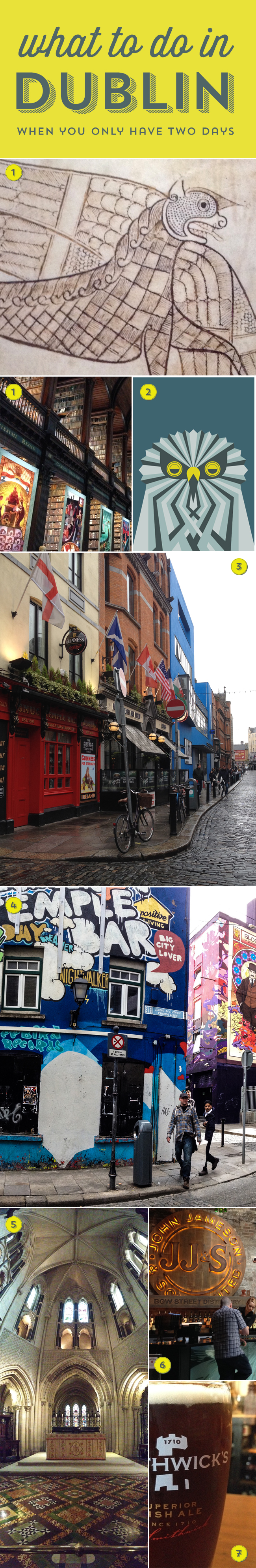 What to do in Dublin when you only have two days!