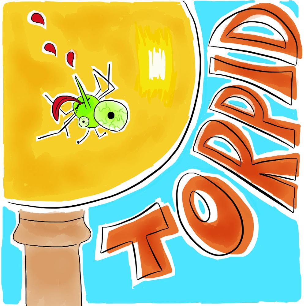 Visual Vocabulary: torpid, Julie Rado Design
