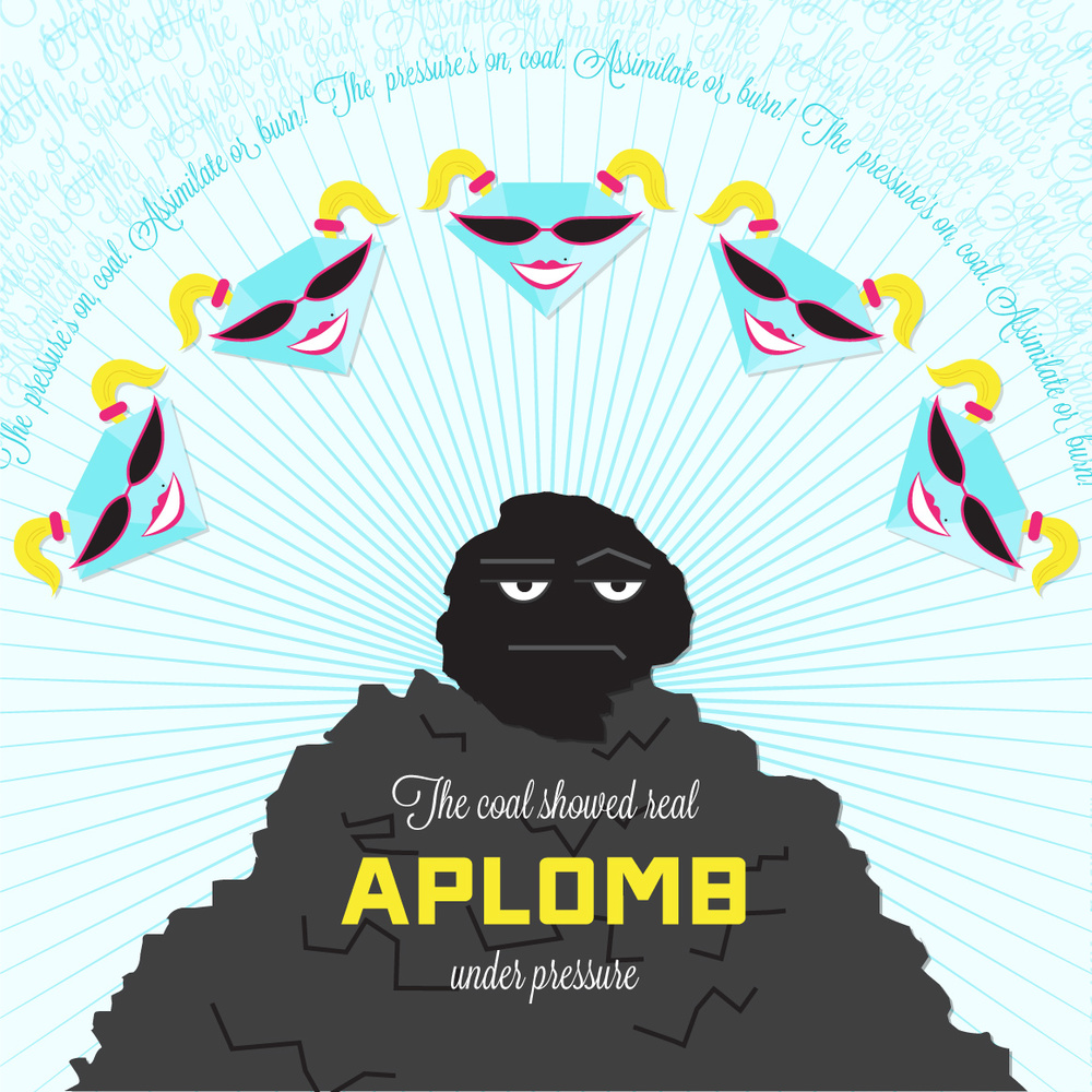 Visual Vocabulary: aplomb, Julie Rado Design