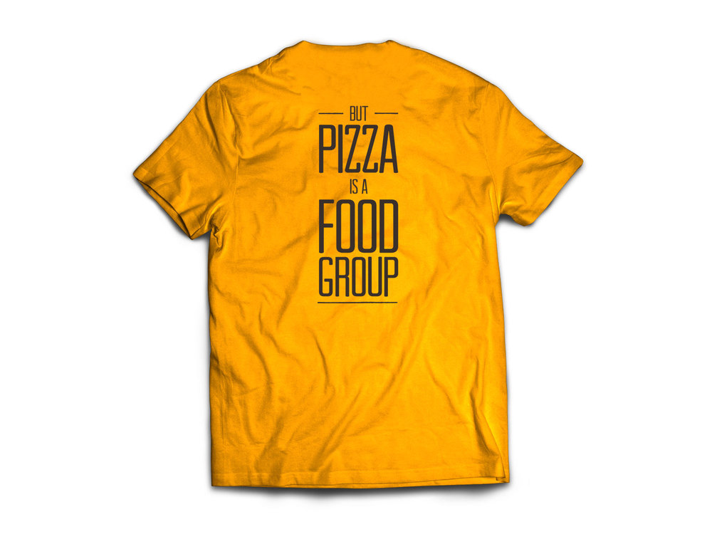Wood Fired Pizza Shop T-Shirts designed by Julie Rado