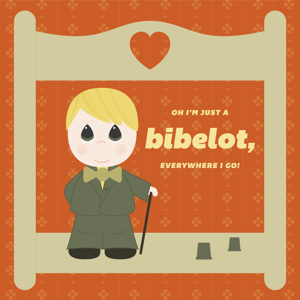 Visual Vocabulary: bibelot, Julie Rado Design