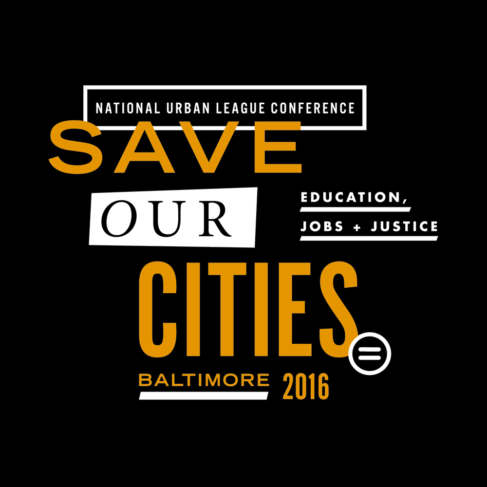 National Urban League 2016 Conference Identity & Collateral, Julie Rado / John Saal / Amy Saal at Untuck Design