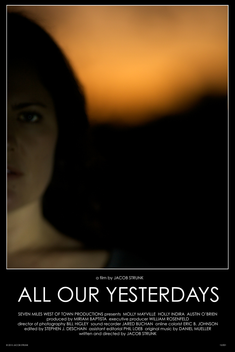 ALL OUR YESTERDAYS (2015)