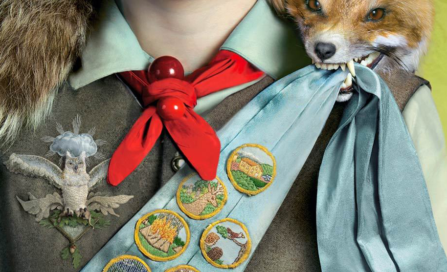 Look at the taxidermied fox and handmade merit badges.