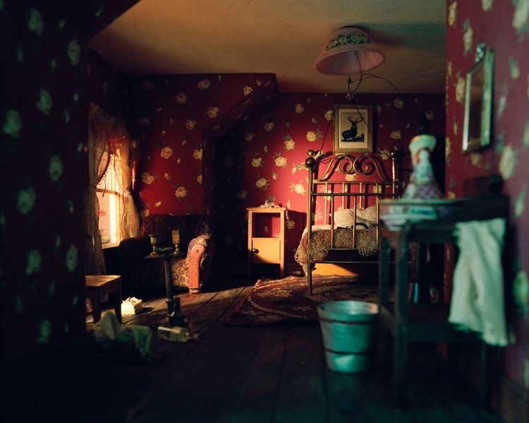 """Red Bedroom"""