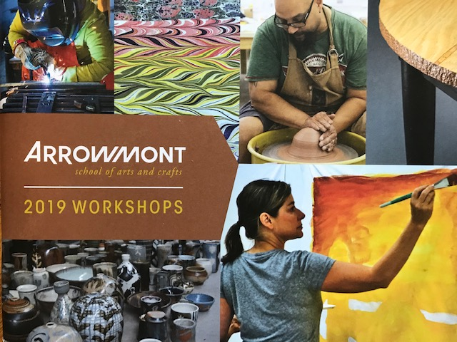 arrowmont catalog