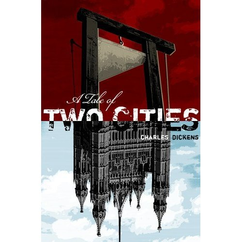 Kindle edition cover of A Tale of Two Cities. Bad ass.