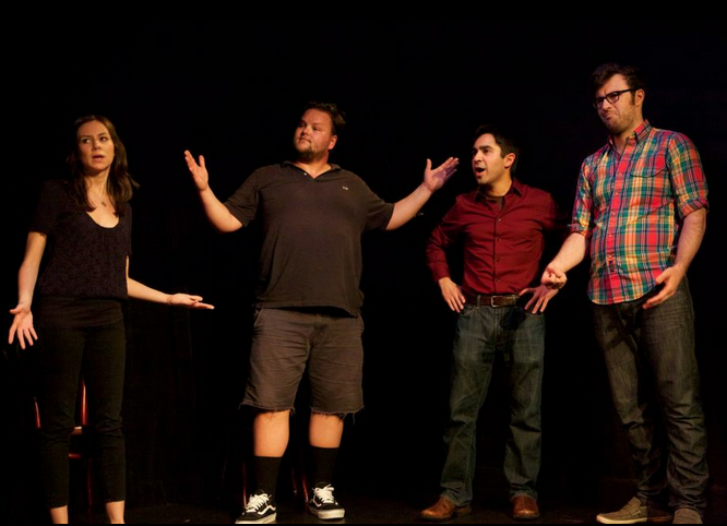 whatididforlovecomedy :     What? You  weren't  planning on coming to the  WHAT I DID FOR LOVE  show tonight at 7:30pm at UCBeast?   Oh you were? We just misheard you? Phew. Make reservations  here .     WHAT I DID FOR LOVE . We take your stories of romantic love and loss and spin them into hilarious improvised comedy.  Fridays 7:30pm. UCBeast. $10.