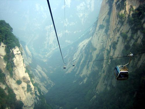 fuckyeahglobetrotters: Mount Hua, China