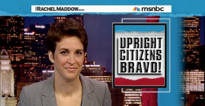 awesome! check out the UCB video that Rachel Maddow mentioned:  BP Spills Coffee     patbaer :      benzado :      coreybrown :      Did this make the site go down?     Yes.     (via  ericscott )   The site also went down before this, but yeah.