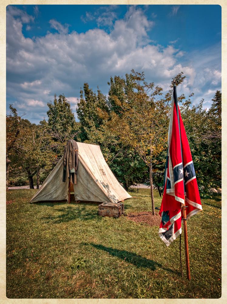 36th Virginia Confederate camp