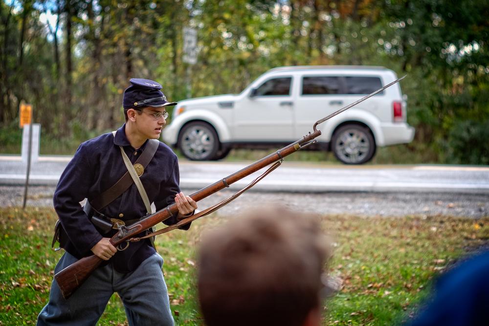 Bayonet lunge!