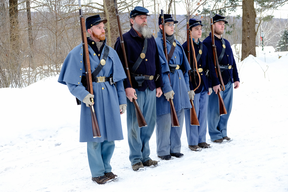 left to right: Sergeant Ray Ball, Private Rob Yott, Private Parker Ball, Private Noah Luthart, Artificer Luke Eames.