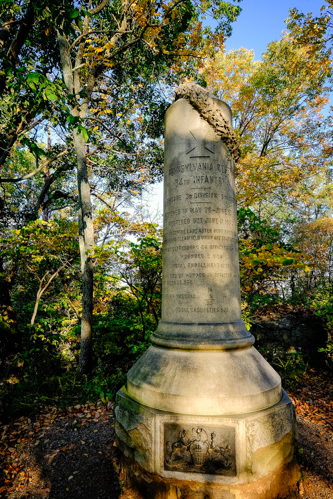 Monument on Big Round Top