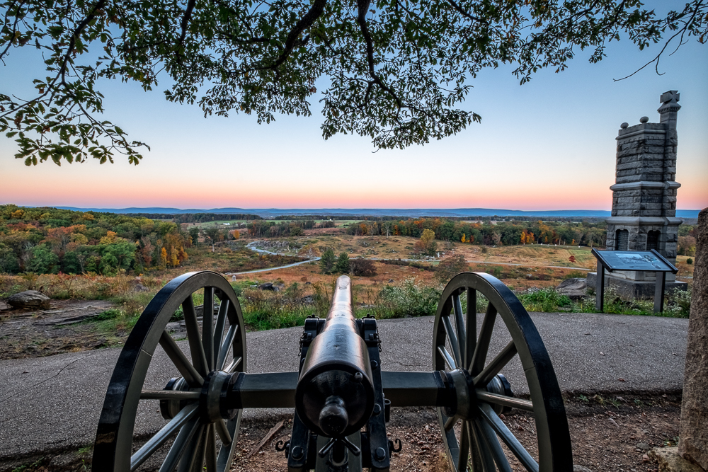 Canon on Little Round Top