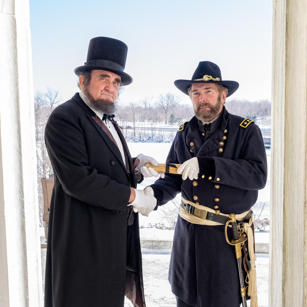 President Lincoln and Union General Ulysses S. Grant