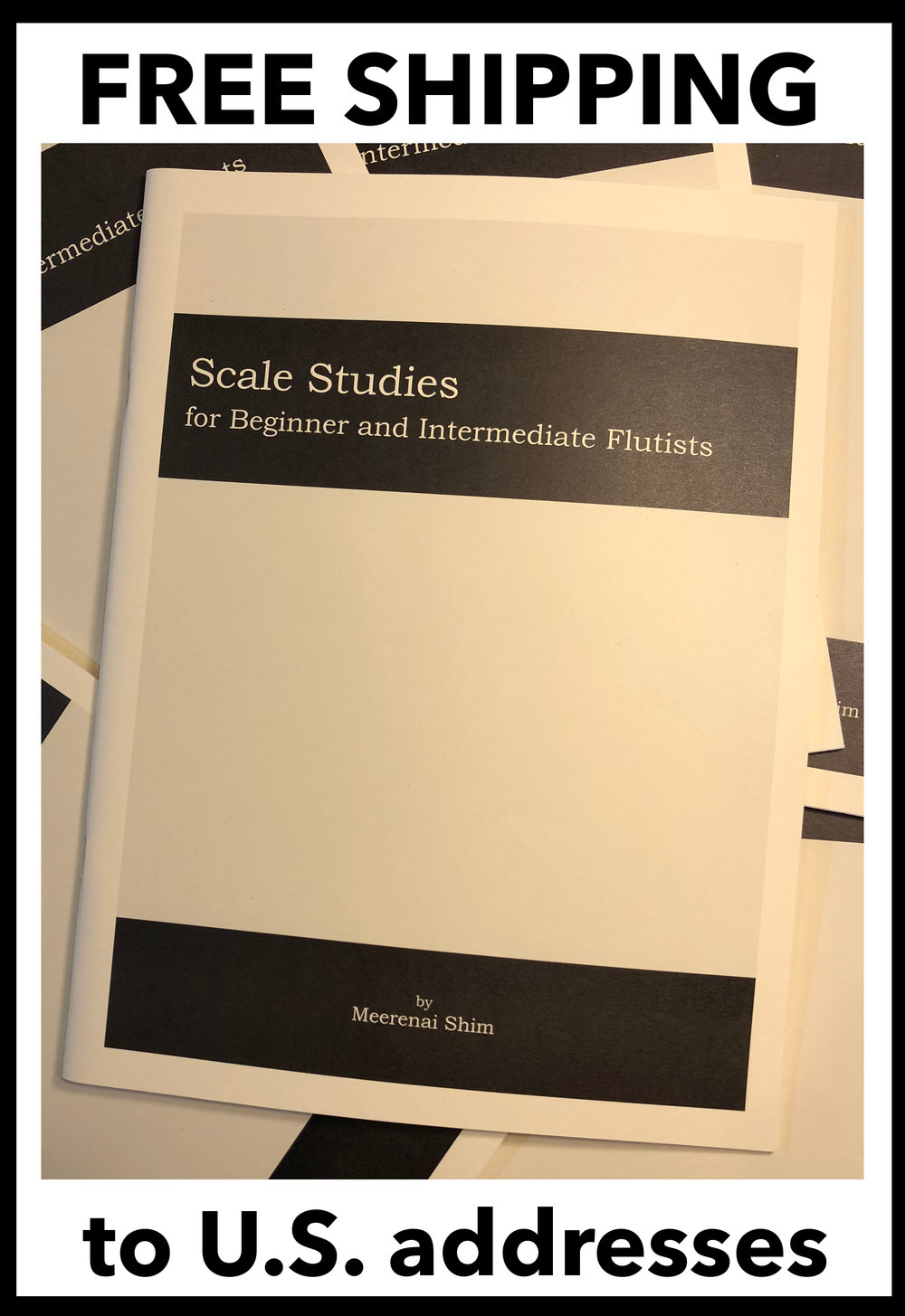 My Scale books ship for free within the USA!