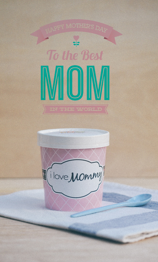 "Limited Edition ""I Love Mommy"" 16oz Pint"