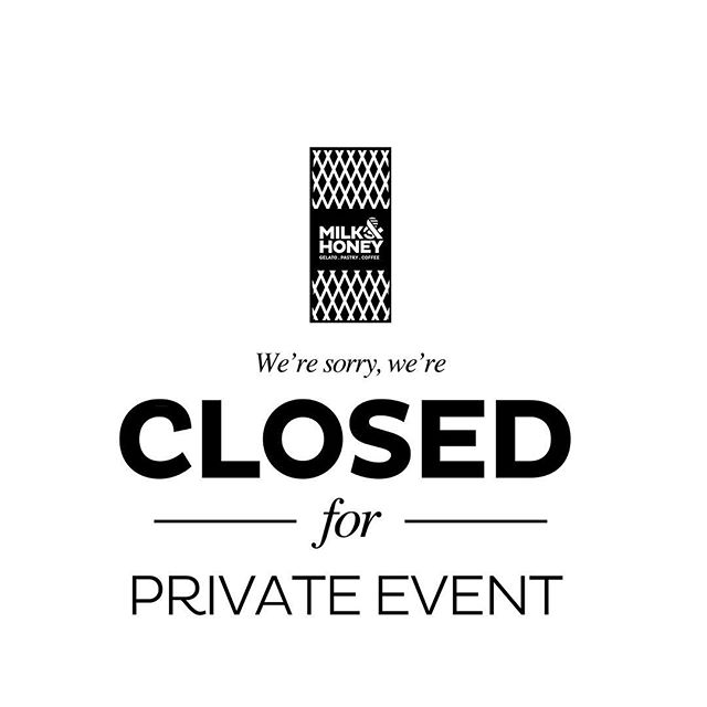 Dear all, sorry to inform you that Milk & Honey Bukit Batok Hometeam NS branch will be closed till 3pm today for a private event. We will resume operation after 3pm 😉 see you then.