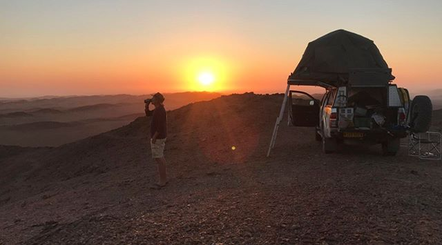 Yesssss. Just booked my ticket for #Namibia #expedition #2019. From early March till the end of June I'll be cruising around the remotest corners of this vast country, #bushcamping far, far away from the nearest human settlement. With one or two guests on board (each for a week or a bit more) that want to experience what it's like to #travel the far corners of the earth and to camp in places where the chances of meeting an #elephant, a #lion, a #scorpion or #hyena are way bigger than the chances of seeing another human being. I can't wait to feel the hot, dry wind toucing my skin. The warm sand that tickles my feet, the heat coming from large boulders hours after sunset and - above all - this incredible sense of #freedom. Check my website if you want to know more about these trips or about my photo book 'Empty', that tells the story of these lovely journeys. #kaokoland #4WD #kunene #damaraland #desert #hilux #toyota